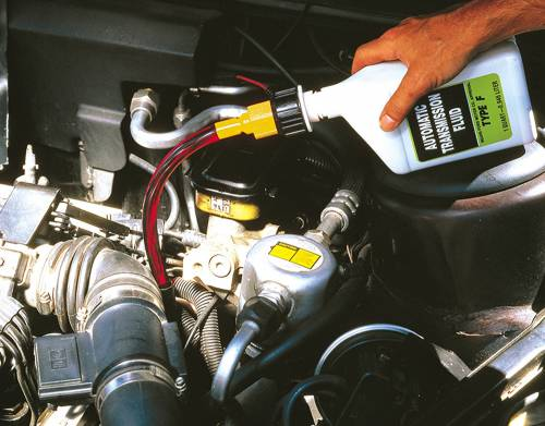 Changing Transmission Fluid or Gear Oil
