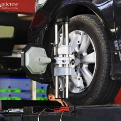 Car Needs a Tyre Alignment