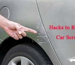 Hacks to Remove Car Scratches