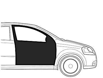 Maruti SX 4 Front Door Right - Dent Paint